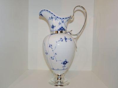 Musselmalet porcelæn